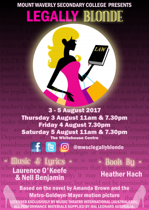 College Production - Legally Blonde